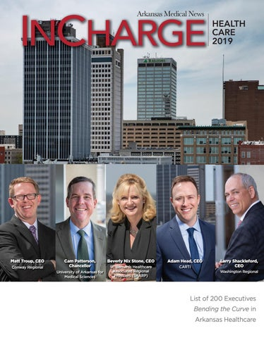 Arkansas Medical News InCharge 2019 by Medical News - issuu