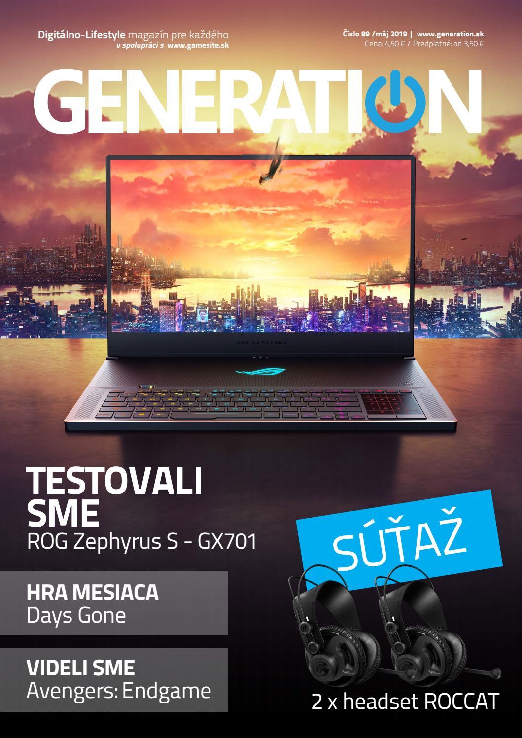 ba9bacdb99 Generation magazín  089 by Generation magazine - issuu