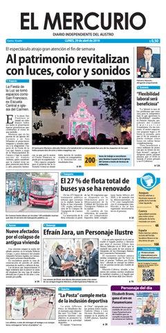 a31f2d4fdc48 El Mercurio-29-04-2019 by Diario El Mercurio Cuenca - issuu