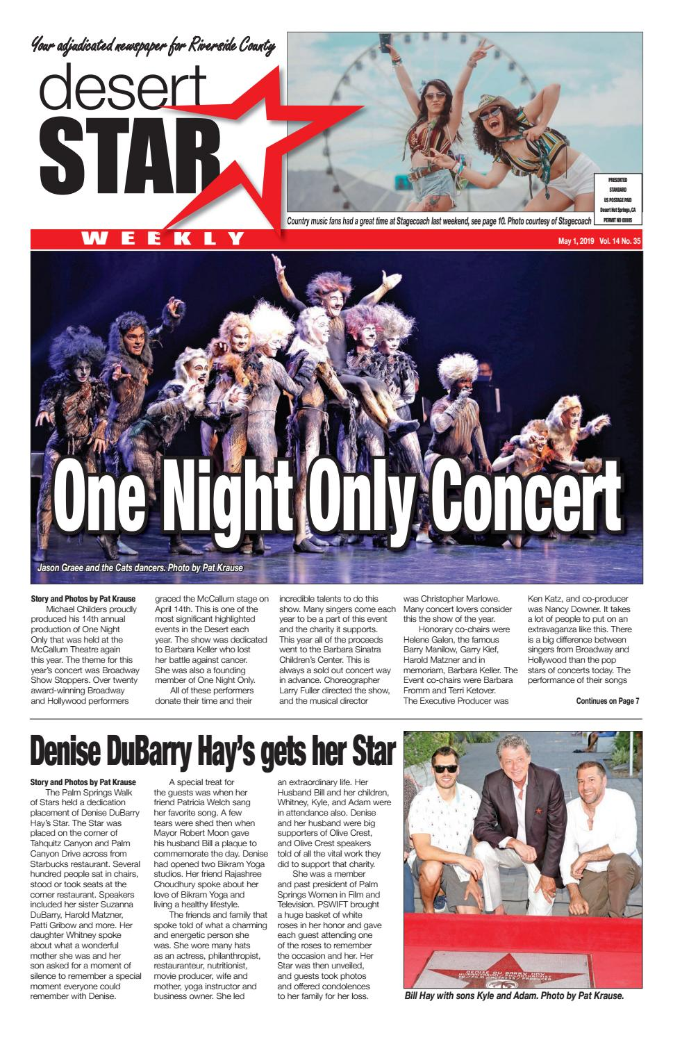 Desert Star Weekly May 1, 20219 issue by The Desert Star
