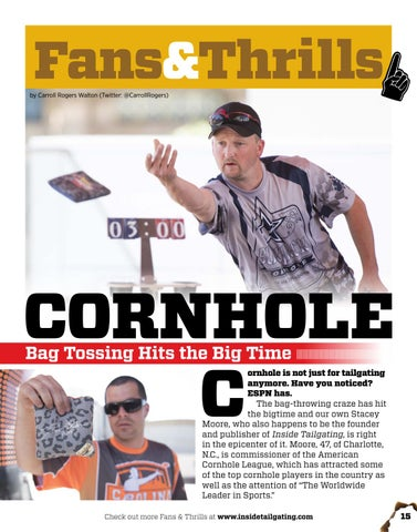 Page 15 of Cornhole: Bag Tossing Hits the Big Time