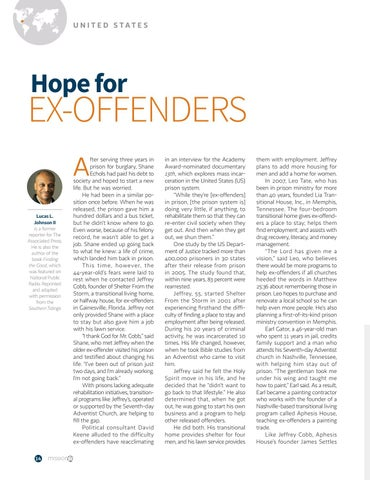Page 14 of Hope for EX-OFFENDERS