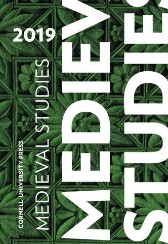 Cornell University Press Medieval Studies Catalog 2019