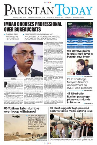 E-Paper PDF 7 May (ISB) by Pakistan Today - issuu