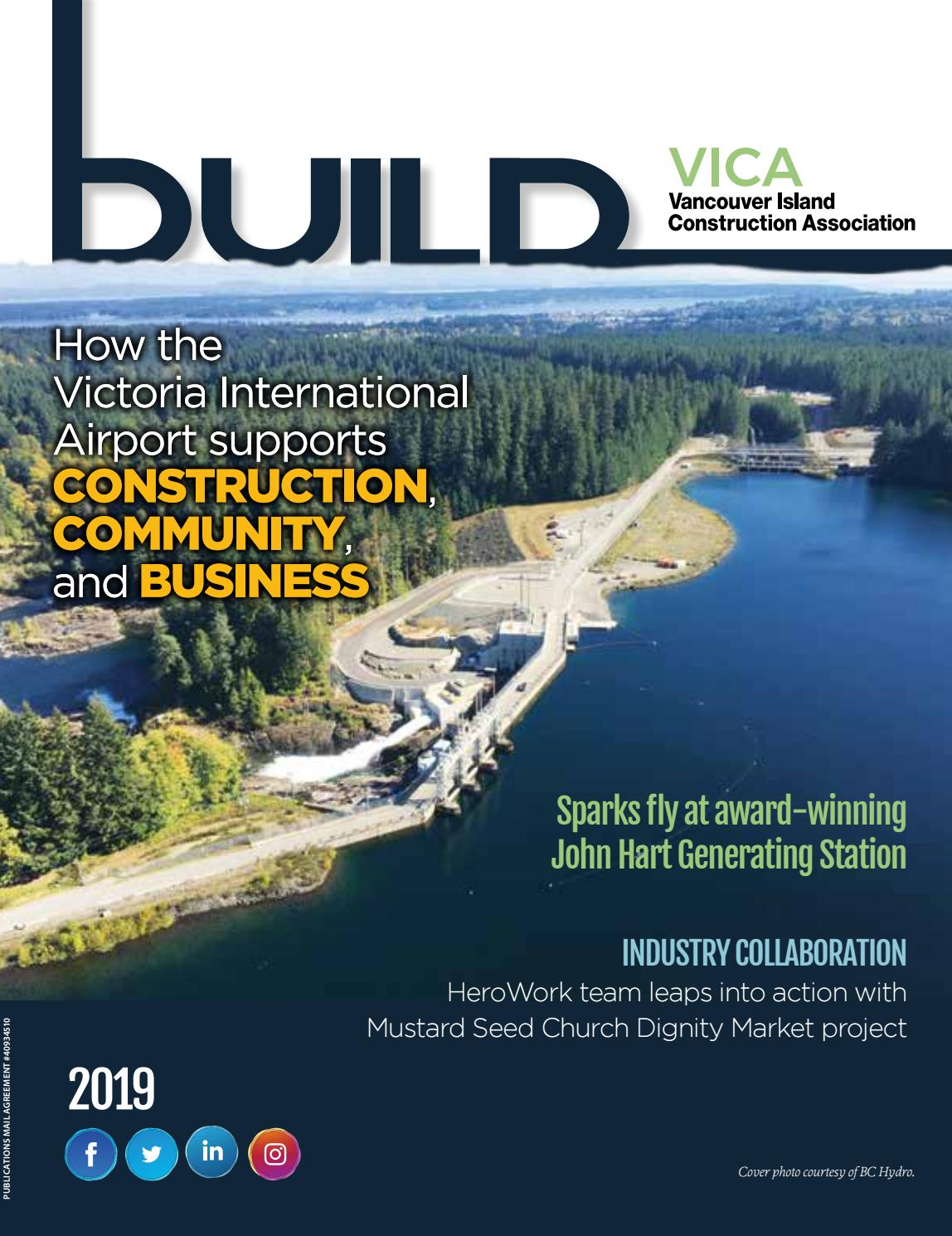 VICA BUILD Magazine 2019/20 by Vancouver Island Construction