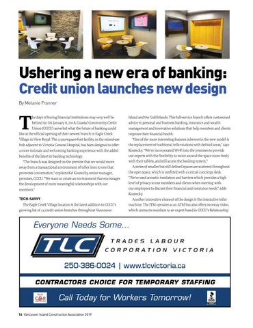 Page 16 of Ushering a new era of banking: Credit union launches new design