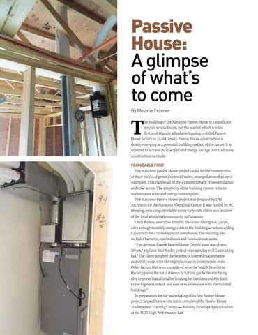 Page 18 of Passive House: A glimpse of what's to come