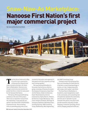 Page 32 of Snaw-Naw-As Marketplace: Nanoose First Nation's first major commercial project