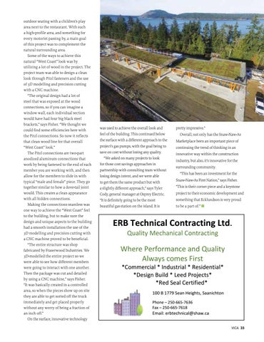 Page 33 of Snaw-Naw-As Marketplace: Nanoose First Nation's first major commercial project