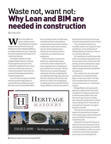 Page 40 of Waste not, want not: Why Lean and BIM are needed in construction