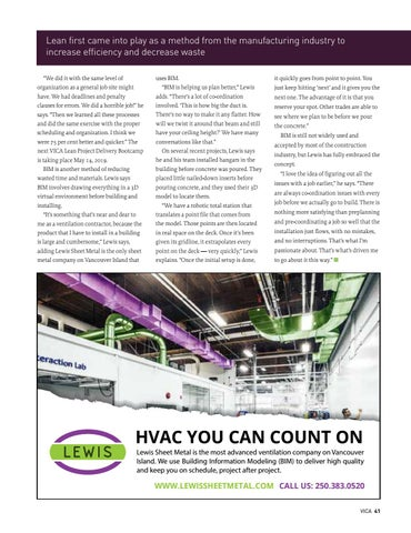 Page 41 of Waste not, want not: Why Lean and BIM are needed in construction