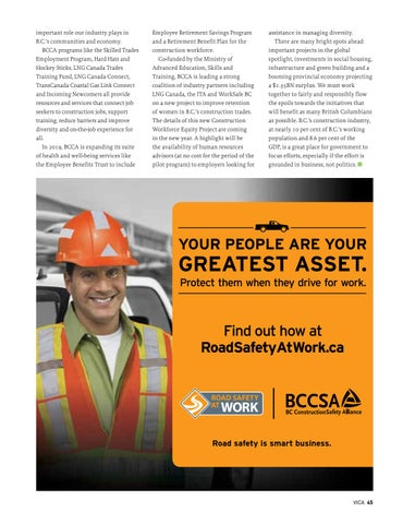 Page 45 of A dynamic year in British Columbia's construction industry: Skilled workforce shortage still the No. 1 issue