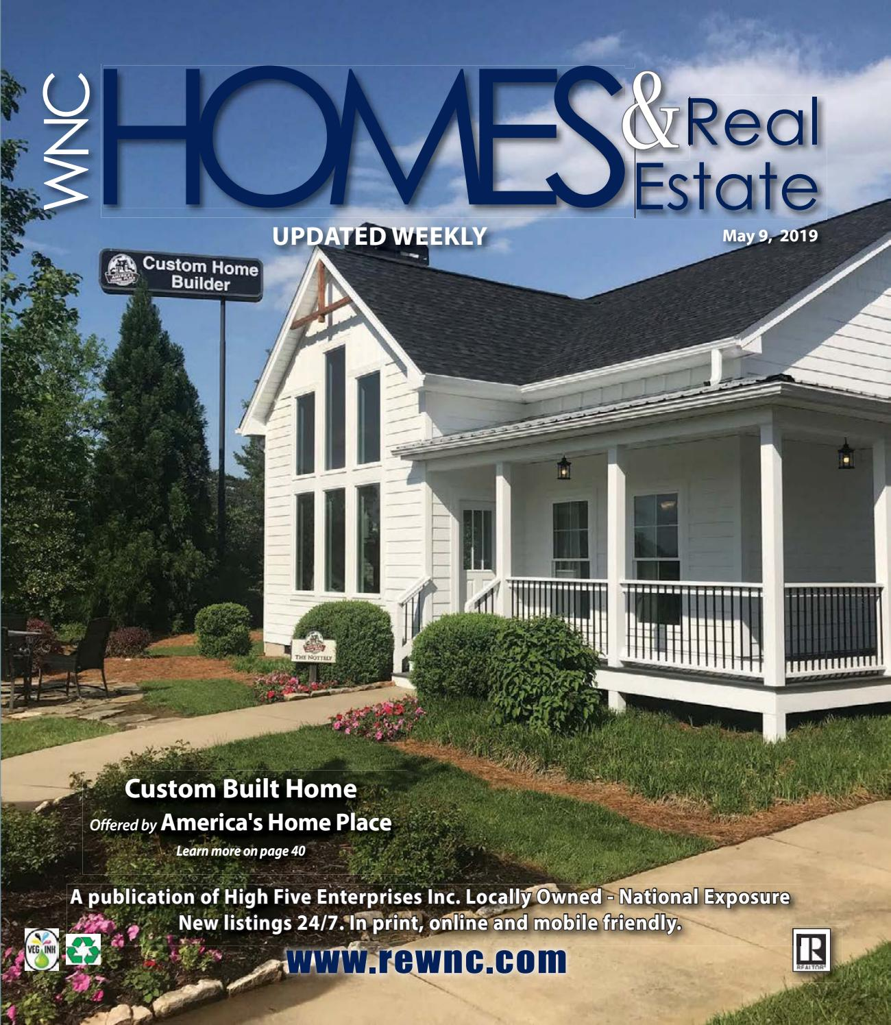 Vol 30 May 9 By Wnc Homes Real Estate Issuu