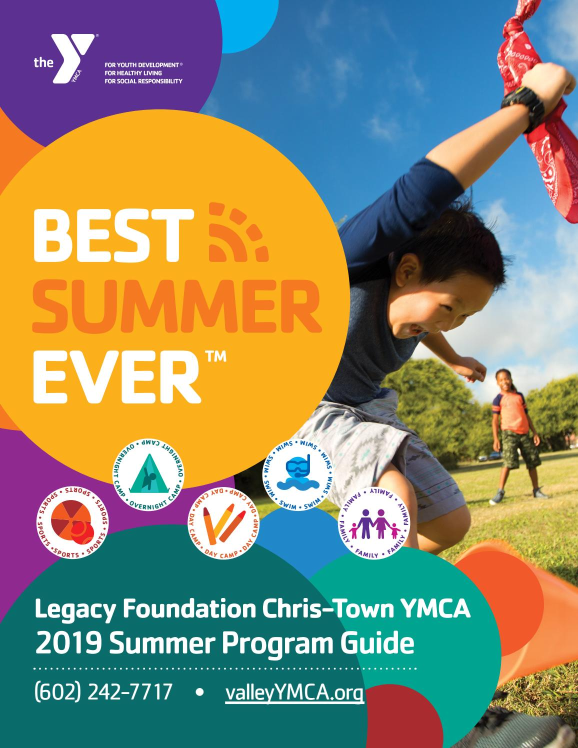 7d27a1c7b6aa Legacy Foundation Chris-Town YMCA Summer 2019 Activity Guide by ...