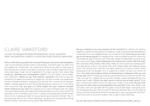 Page 12 of Interview with: Claire Wakeford