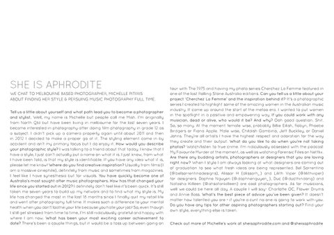 Page 24 of Interview with: She Is Aphrodite