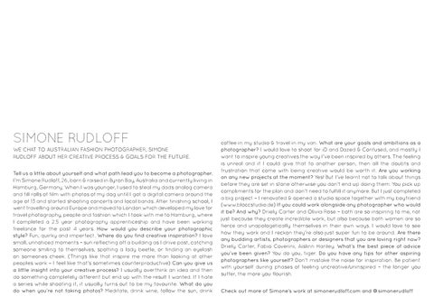 Page 39 of Interview with: Simone Rudloff