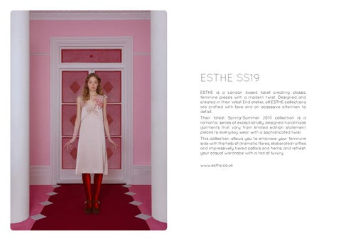 Page 40 of Feature: ESTHE SS19