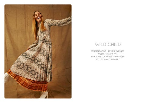 Page 48 of Featured Editorial: Wild Child by Simone Rudloff