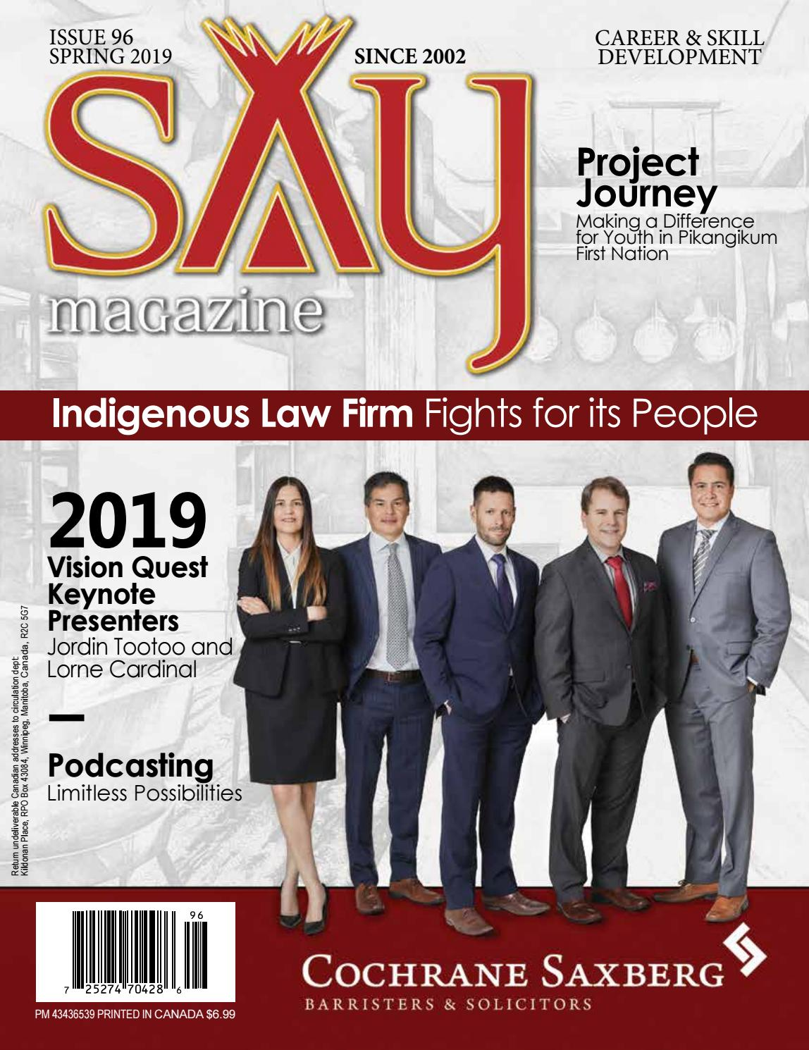 Issue 96 - Spring 2019 by saymag - issuu
