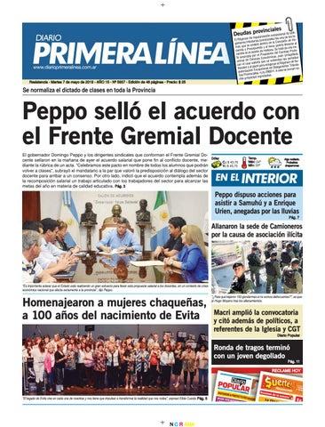 18caaec1 Primera Linea 5938 07-05-2019 by Diario Primera Linea - issuu