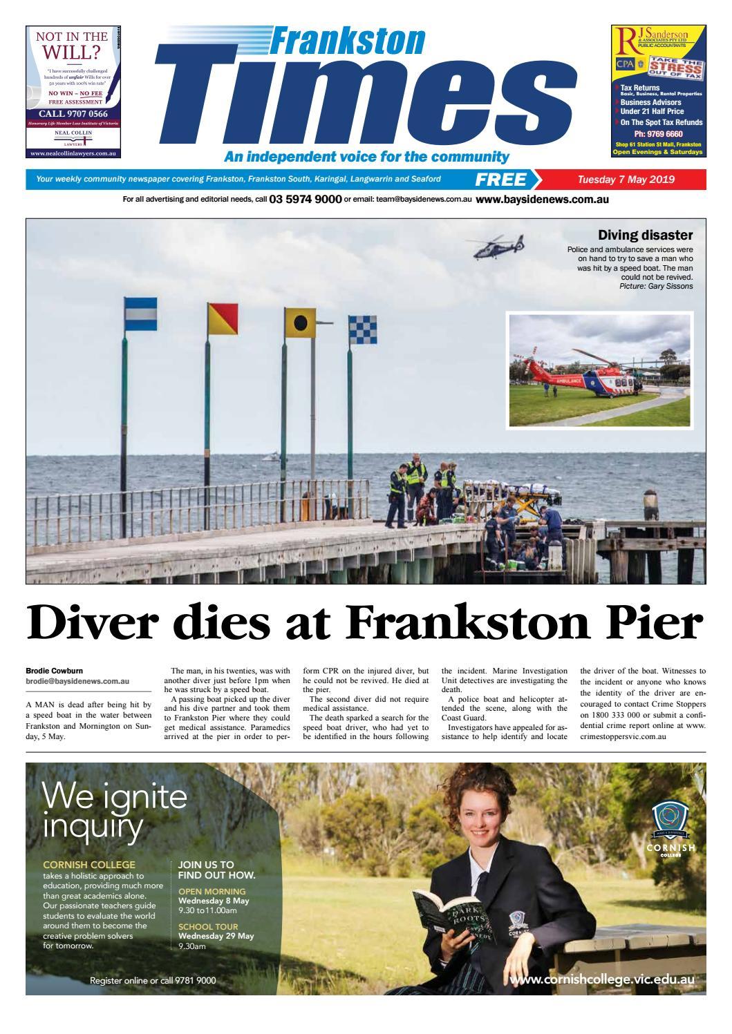 6 May 2019 by Mornington Peninsula News Group - issuu