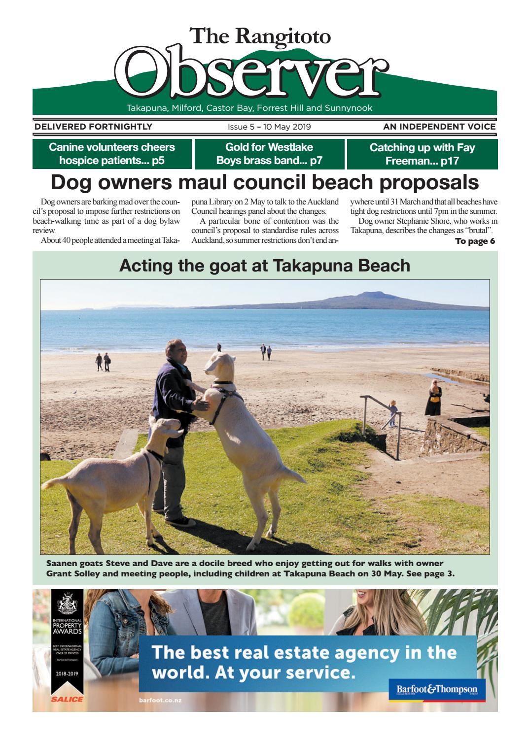 10 May 2019 Rangitoto Observer by Devonport Flagstaff - issuu