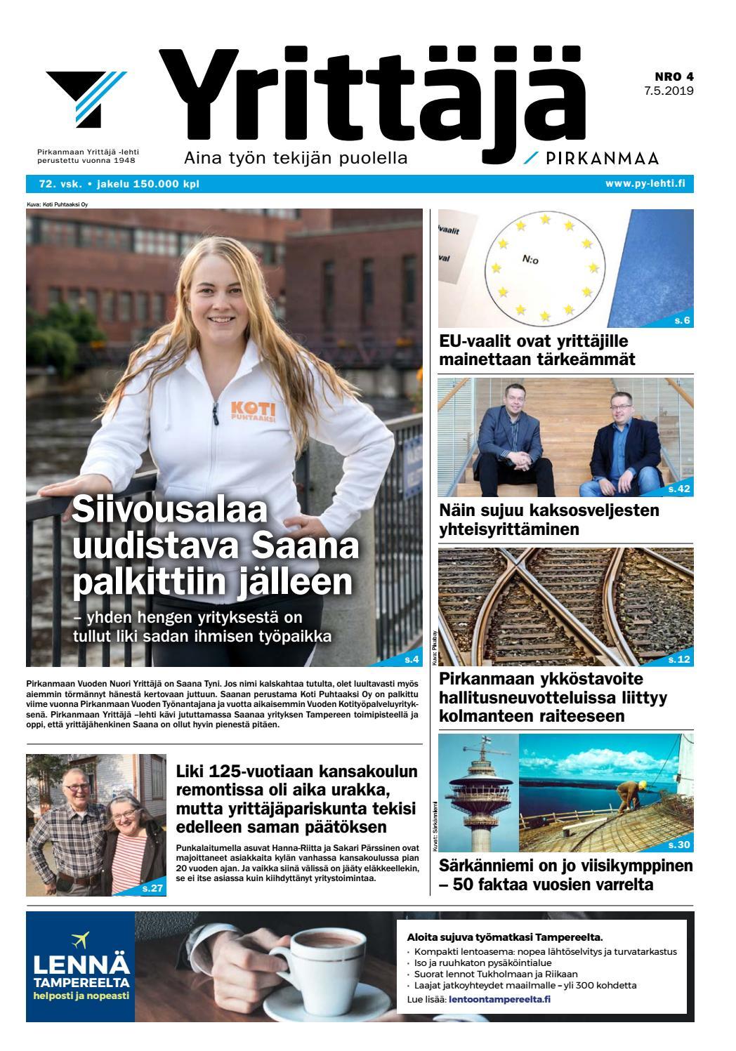8f60c19f760 Pirkanmaan Yrittäjä -lehti 4/2019 by Pirkanmaan Yrittäjät - issuu