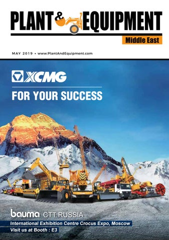 c29771d9c Plant & Equipment | Middle East | April 2019 Edition by Plant And ...