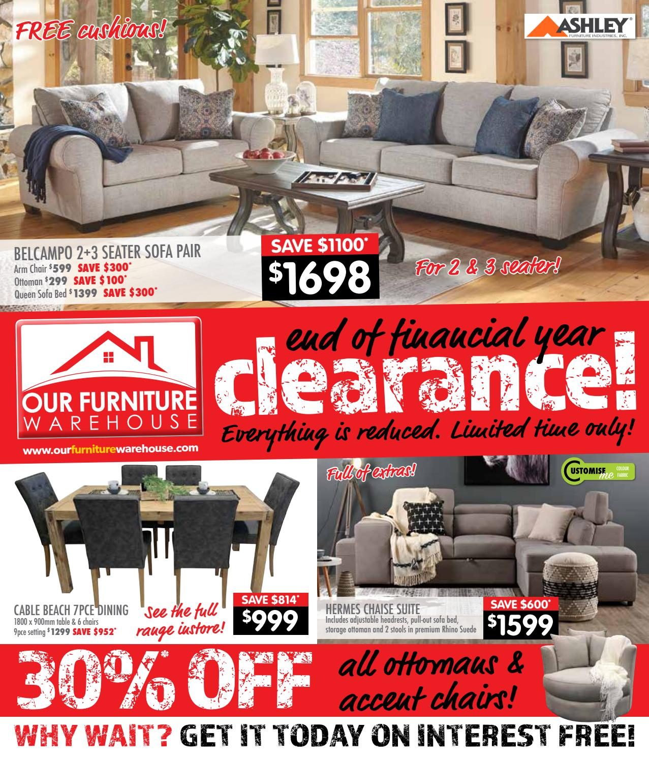 Tremendous Eof Clearance By Ourfurniturewarehouse Issuu Ncnpc Chair Design For Home Ncnpcorg