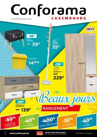 Doc18 Les Beaux Jours Du Rangement By Conforama Luxembourg