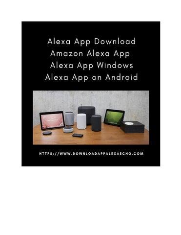 Alexa App - Issuu