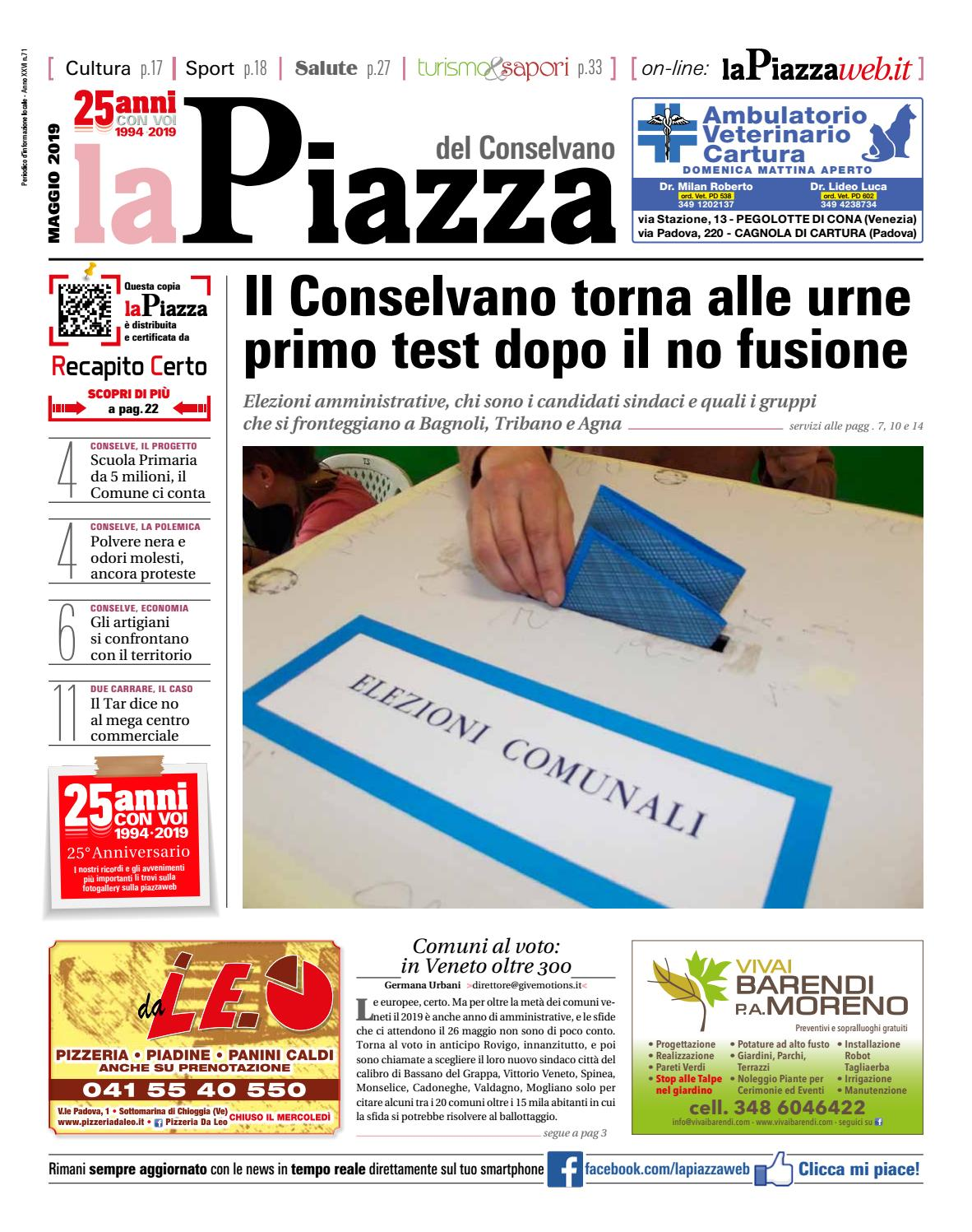 0696563cf668 conselvano mag2019 n71 by lapiazza give emotions - issuu