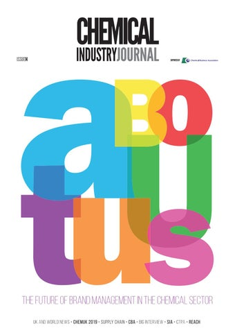 Chemical Industry Journal 14 by Distinctive Publishing - issuu