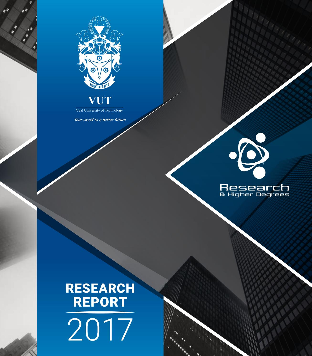 VUT Research Report 2017 by pagepanther_za - issuu