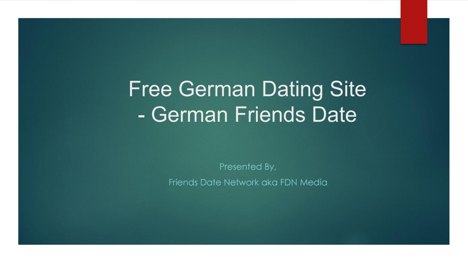 gratis dating site Deutschlandvoors en tegens van dating je beste vriend