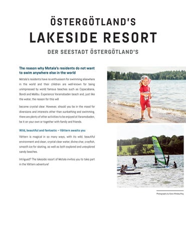 Page 2 of ÖSTERGÖTLANDS LAKESIDE RESORT