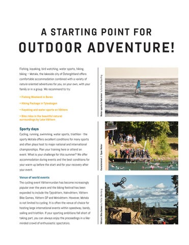 Page 6 of STARTING POINT FOR OUTDOOR ADVENTURE