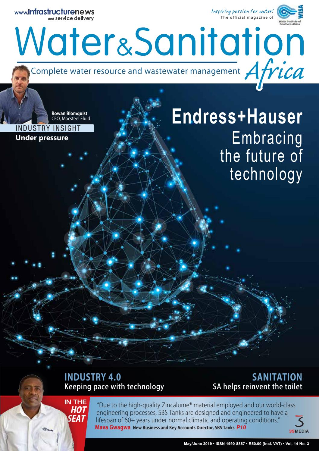 Water&Sanitation Africa May/June 2019 by 3S Media - issuu