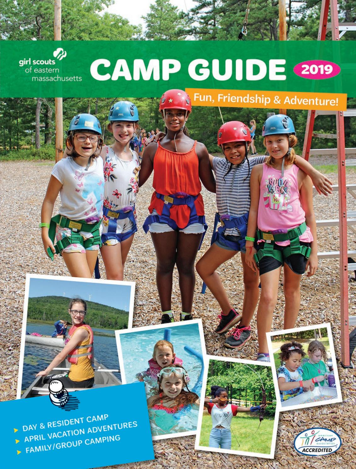 GSEMA | 2019 Camp Guide by girlscoutsemass - issuu