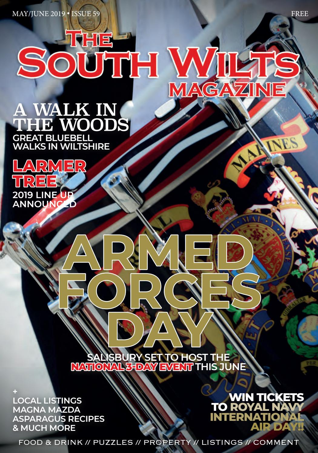 The South Wilts Magazine - May/June 2019 by Lisa Rockliffe