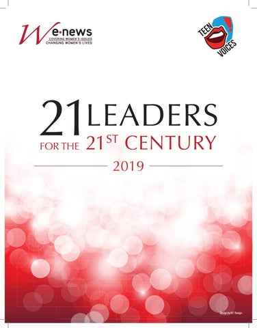 915b10671 Women s eNews  21 Leaders for the 21st Century  2019 by LORI SOKOL ...