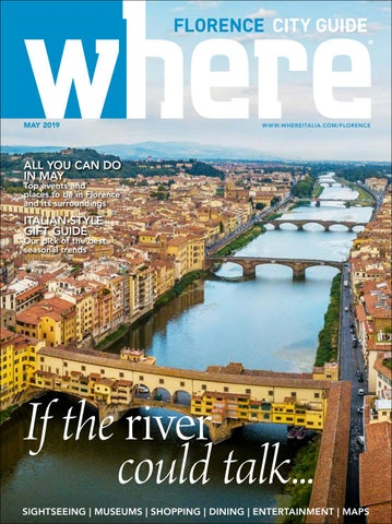 Where Florence May 2019 By Where Florence Issuu