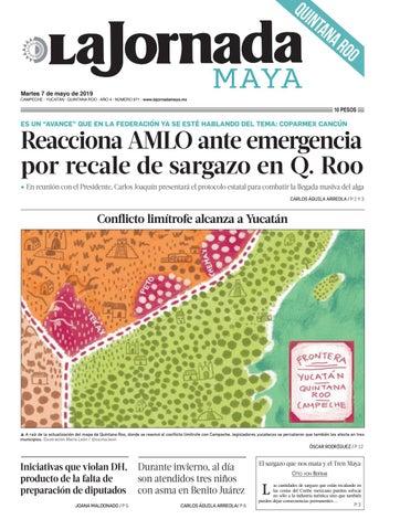 d83c35abb9 La Jornada Maya · martes 7 de mayo de 2019 by La Jornada Maya - issuu