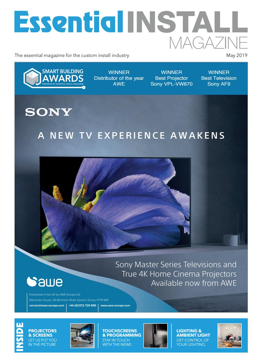 Essential Install May 2019 by All Things Media - issuu