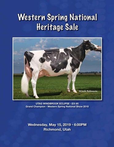 Western Spring National Heritage Sale 2019 by Cowsmopolitan - issuu