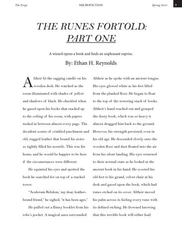 Page 9 of The Runes Fortold by Ethan H. Reynolds
