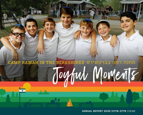 CRB Annual Report 2018 by Camp Ramah in the Berkshires - issuu
