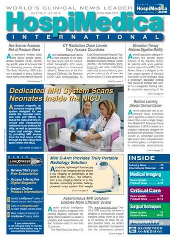 HospiMedica International May 2019 by Globetech - issuu