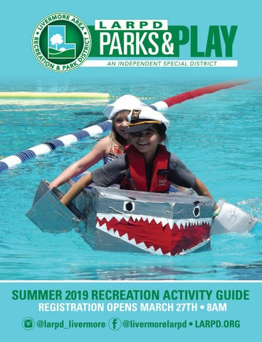 Livermore Area Recreation & Park District Summer 2019 Park